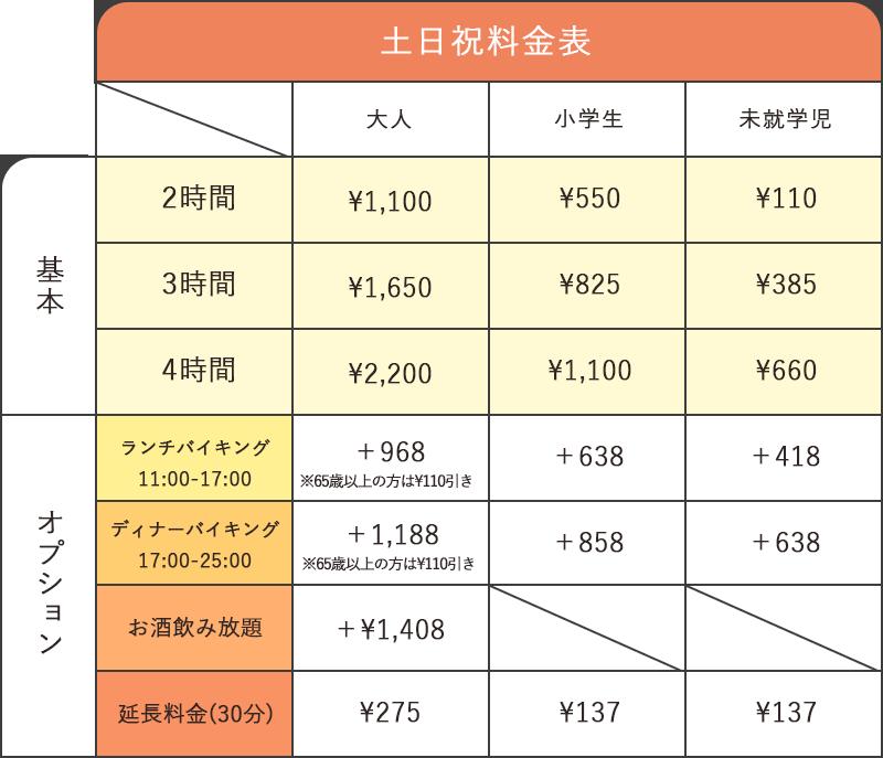 ランチ11:00〜17:00